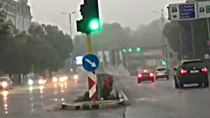 Бурята във Варна