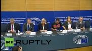 France: Le Pen hits out at Juncker's proposed migrant quota