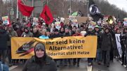 Germany: Hundreds march against AfD congress in Riesa
