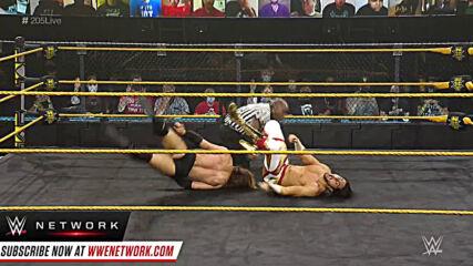 Curt Stallion vs. Mansoor: WWE 205 Live, March 5, 2021
