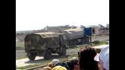 Демонстрация на Камаз И други Военни Машини