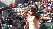 Roland Garros 3r 2015 Стивенс - Пиронкова