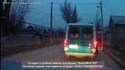 Неуспешен опит за бягство от полицейска кола