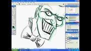 Рисуване На the Joker