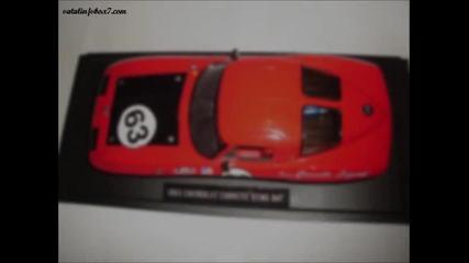 Моята скромна колекция от макети на автомобили в мащаб 1:24 и 1:18