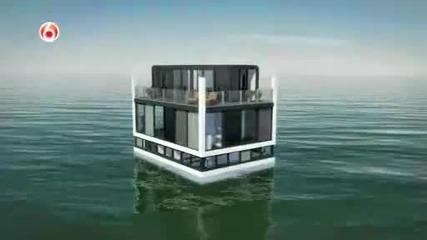 Изграждане на плаваща къща