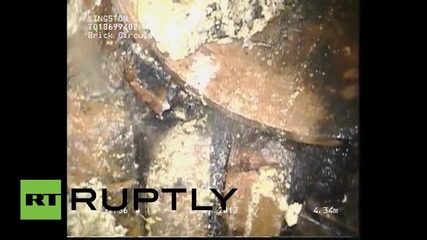 UK: 10-ton FATBERG removed from London sewers