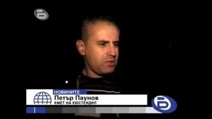 Тир се вряза в жилищна сграда в Кюстендил