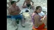 Касалдо и Резалдо на плажа