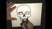 Как да нарисуваме Скелет