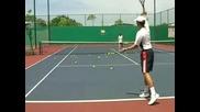 Тенис Уроци : Добавяне на топспин към ударите
