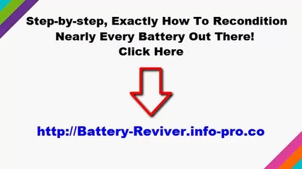 How To Recondition Batteries At Home, How To Recondition A Battery, How To Restore Battery