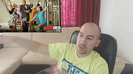 """Казуси от екрана: Дрейпър """"халюцинира"""" починалият Бърт Куупър (Mad Men)"""