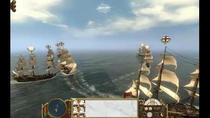 Empire Total War - Naval Battle 1