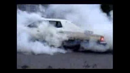 Ford Torino Burnout
