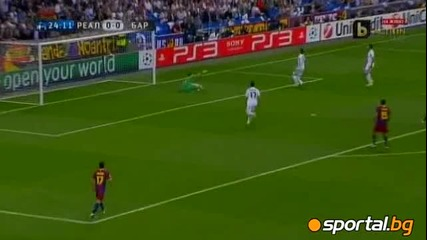 Реал Мадрид - Барселона 0:2 1 гол на Меси