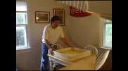 Слънчев колектор за топла вода направен у дома