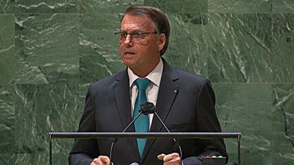 UN: Bolsonaro defends govt record on COVID, environment, corruption at UNGA