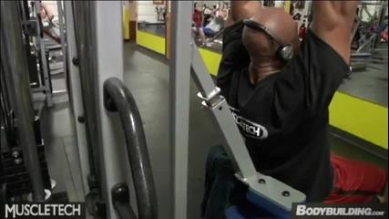 Фил Хийт - тренировка за гръб