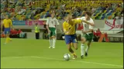 Sweden 5 - 0 Bulgaria Euro 2004