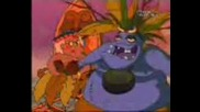 Courage the Cowardly Dog - Courage Under The Volcano