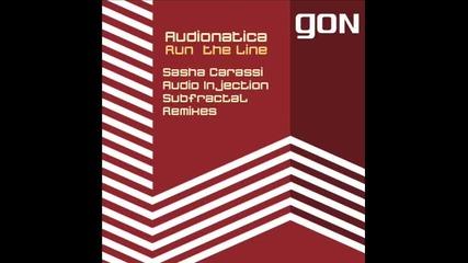 Audionatica - Run the Line (sasha Carassi Remix) 2011