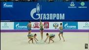 Златен медал за България - Художествена гимнастика - Гран При Москва 2016