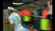 Алжир 1:1 Русия (бг аудио) Мондиал 2014