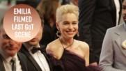 Емилия Кларк се сбогува с Game of Thrones