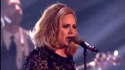 Невероятно! Adele - Rolling In The Deep * Live at the Brit Awards 2012 * H D