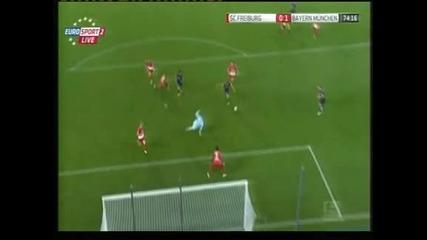 """Байерн"" (Мюнхен) се издъни срещу ""Фрайбург"" – 1:1"