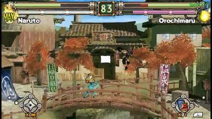 naruto ultimate ninja heroes 2 - Me (naruto) Vs Cpu (orochimaru)