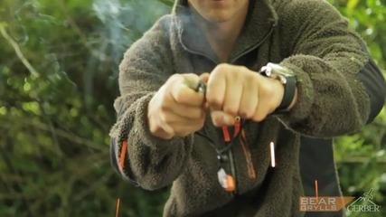 Gerber Bear Grylls Fire Starter [ H D 1080p ]
