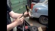 Готин трик с отвертка и компресор