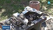 ВАНДАЛИЗЪМ В ПАРКА: В Пловдив изпочупиха барбекюта и оставиха послания
