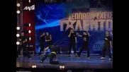 Dead prezz Breakdance - = - Гърция има таланти - = - с2е1