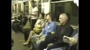 вчера в метрото скрито снимано