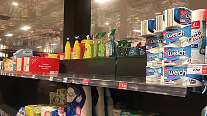 Germany: Toilet paper disappears from Berlin supermarket shelves over new lockdown fears
