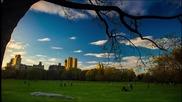Най-красивата страна на Манхатън(ню йорк) с Timelapse.•красота.