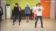 Vixx - G.r.8.u - choreography practice 150813