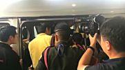 Спасените в Тайланд футболисти с първа публична изява