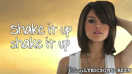 Песента от Shake It Up - Selena Gomez - Shake It Up