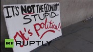 UK: Londoners rally in solidarity with Greece, demanding debt cancellation