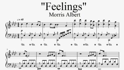 """""""Feelings"""" - Morris Albert (piano sheet music by Tatiana Hyusein)"""