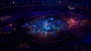 Jay-z & Rihanna - Run This Town - Live @ Paralympics - 09.09.12 ( High Quality )