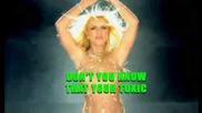 Britney Spears - Toxic [ karaoke + vocals ]