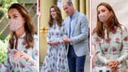 Дори и с маска, пак блести: Кейт с нова публична изява и прекрасна рокля
