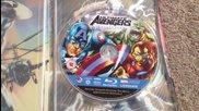 Blu - Ray издание на двата анимационни филма Върховни Отмъстители 1 и 2 (2006-2006)