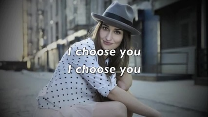 (heart) Sara Bareilles - I Choose You