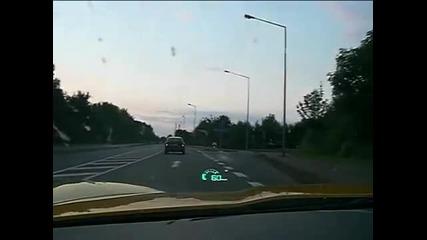 2008 Corvette Z06 - Top Speed 333 km-h on german Autobahn